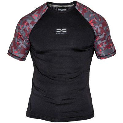 FEFLOGX Sportswear, neues Ghost-Foto, Rashguard Camouflage, Sportshirt.