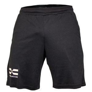 FEFLOGX kurze Sporthosen | Basic-Shorts Allrounder, Ghost (weiß)