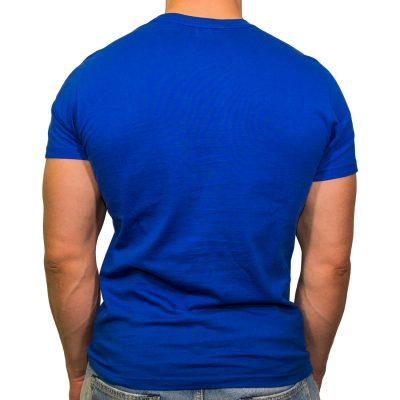 FEFLOGX T-Shirt Basic, Hinten (weiß)