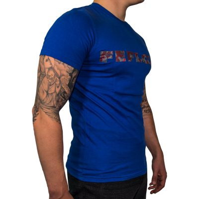 FEFLOGX T-Shirt Basic, Rechts (weiß)