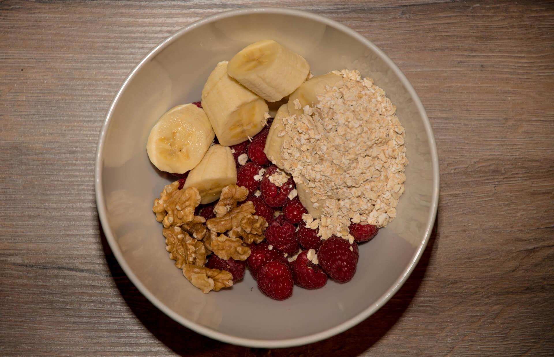 FEFLOGX Sportswear gesundes Frühstücks-Müsli.