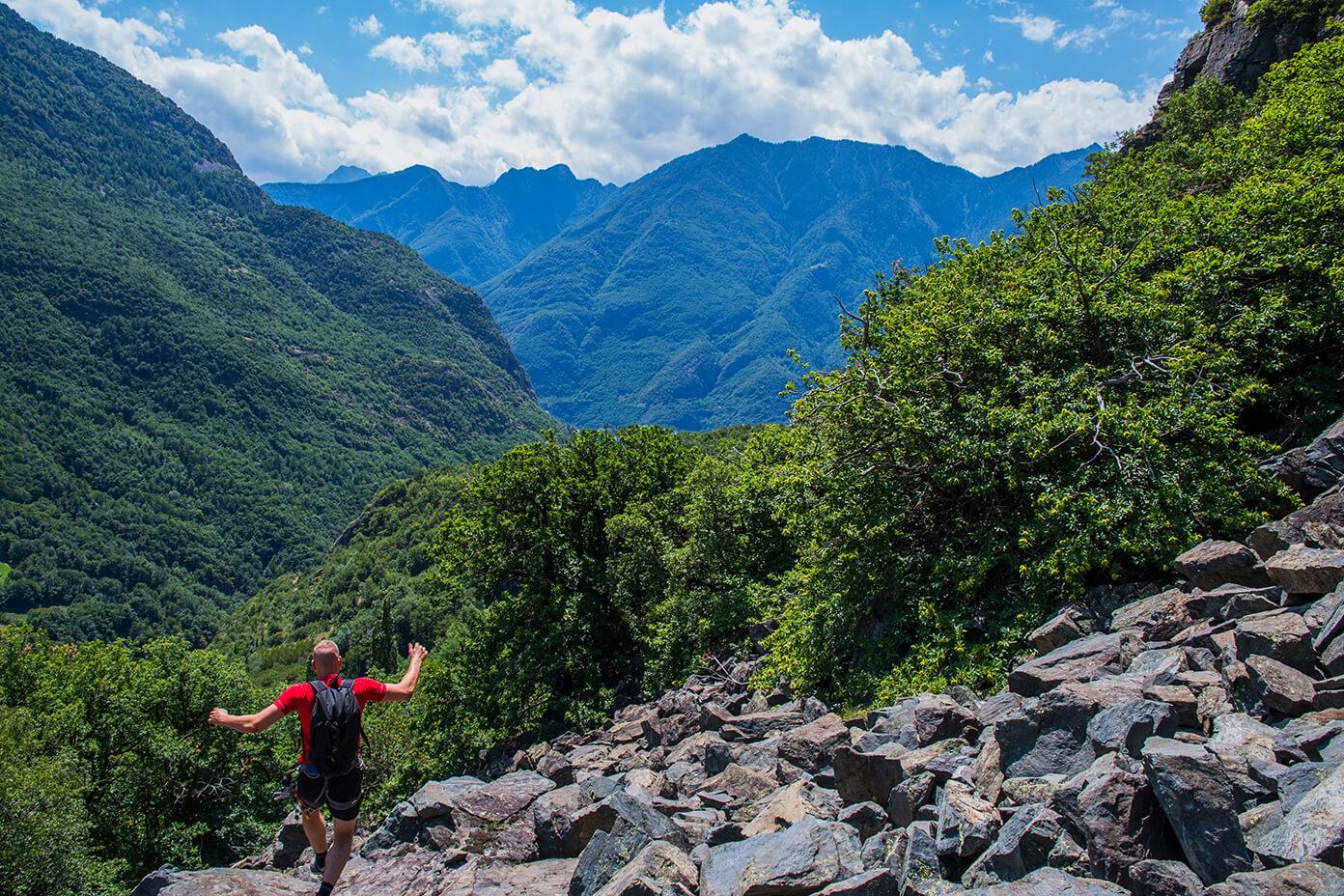 FEFLOGX Klettern in den Alpen.