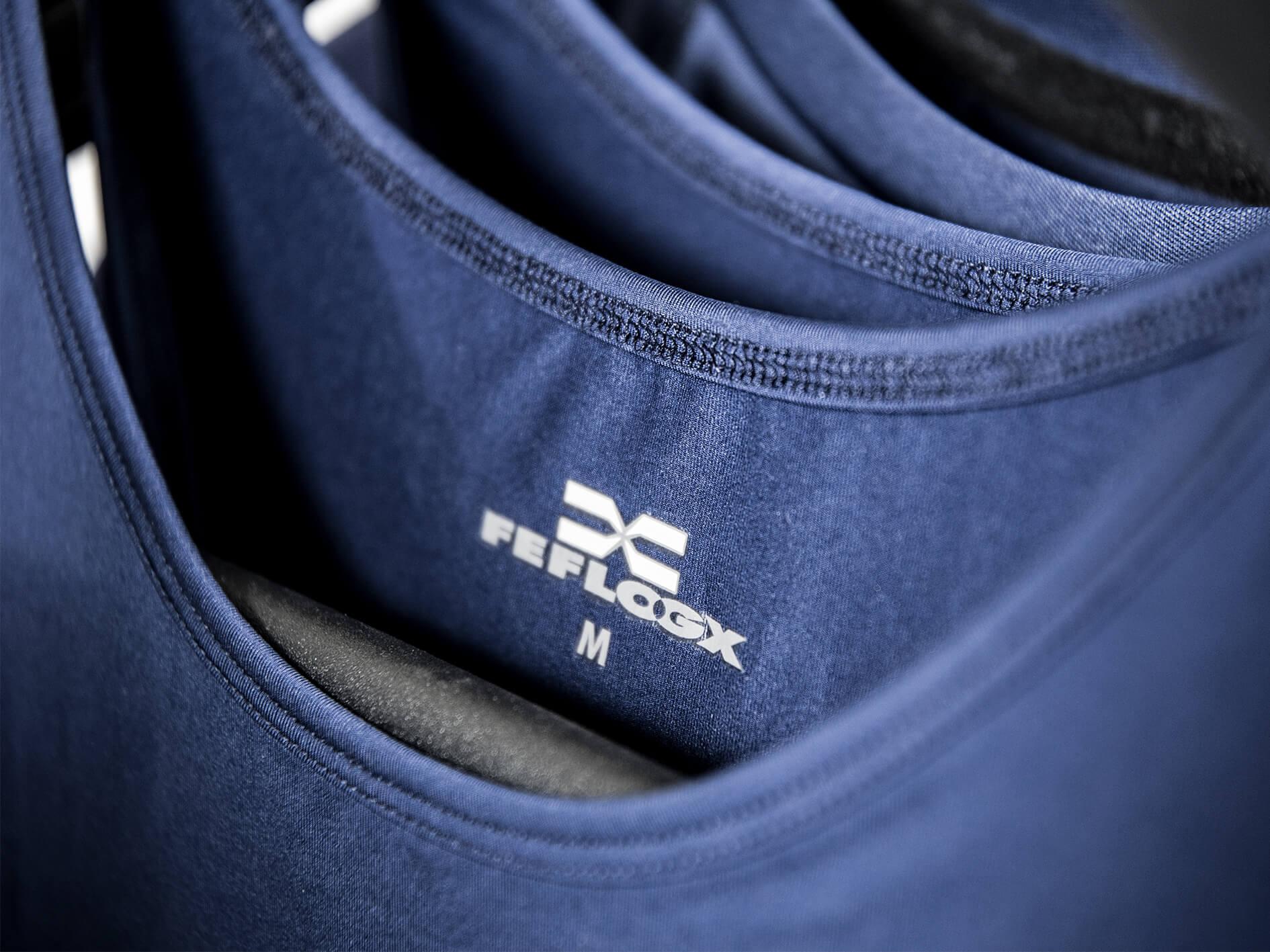 FEFLOGX Sportswear Functional Tank-Top Pure, Detail-Foto (1).