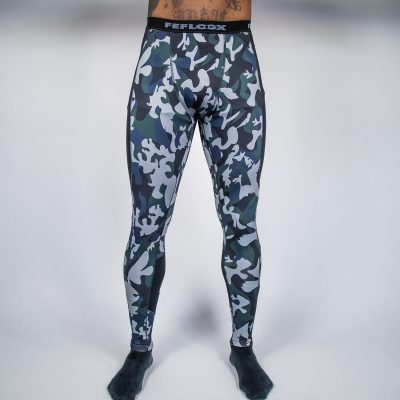 FEFLOGX Camouflage Leggings, Tights Vorne (1).