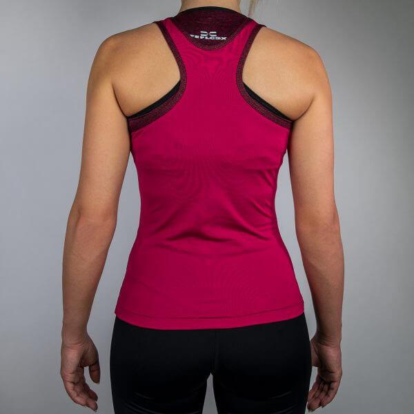 FEFLOGX Sportswear Damen Sport Top Motion, Hinten (1).