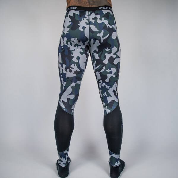 FEFLOGX Camouflage Leggings, Tights Hinten (1).