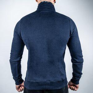 FEFLOGX Sportswear 1/4-Zip-Sweater, Hinten.