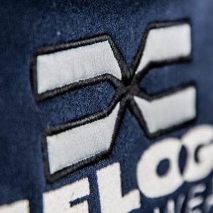 FEFLOGX Sportswear 1/4-Zip-Sweater, Detail Logo-Stick nah.