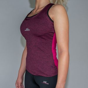 FEFLOGX Sportswear Damen Sport Top Motion, Schräg-Links (1).