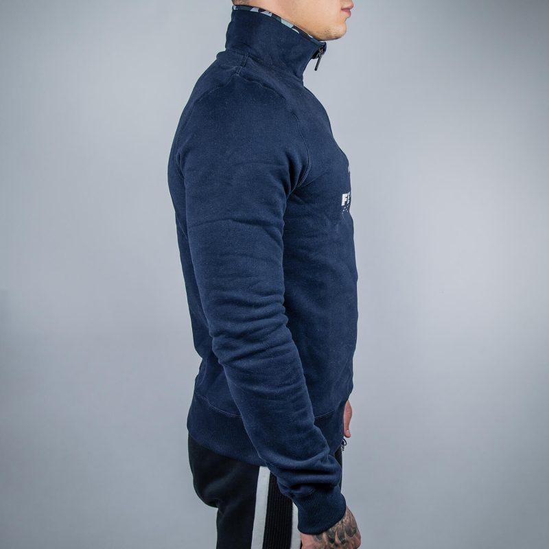 FEFLOGX Sportswear 1/4-Zip-Sweater, Rechts.