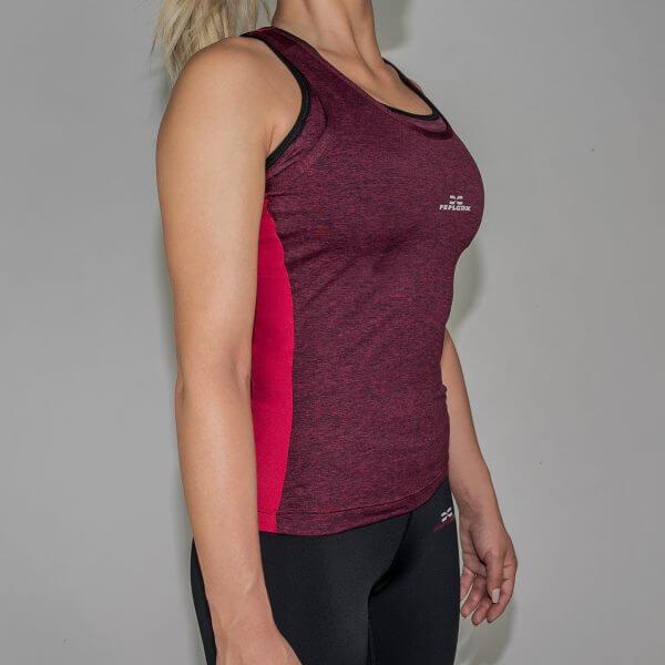 FEFLOGX Sportswear Damen Sport Top Motion, Schräg-Rechts (1).