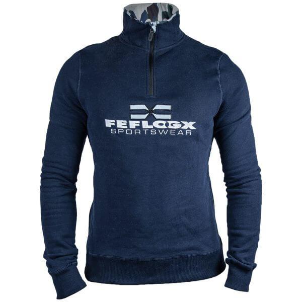 FEFLOGX Sportswear 1/4-Zip-Sweater, Ghost-Foto.