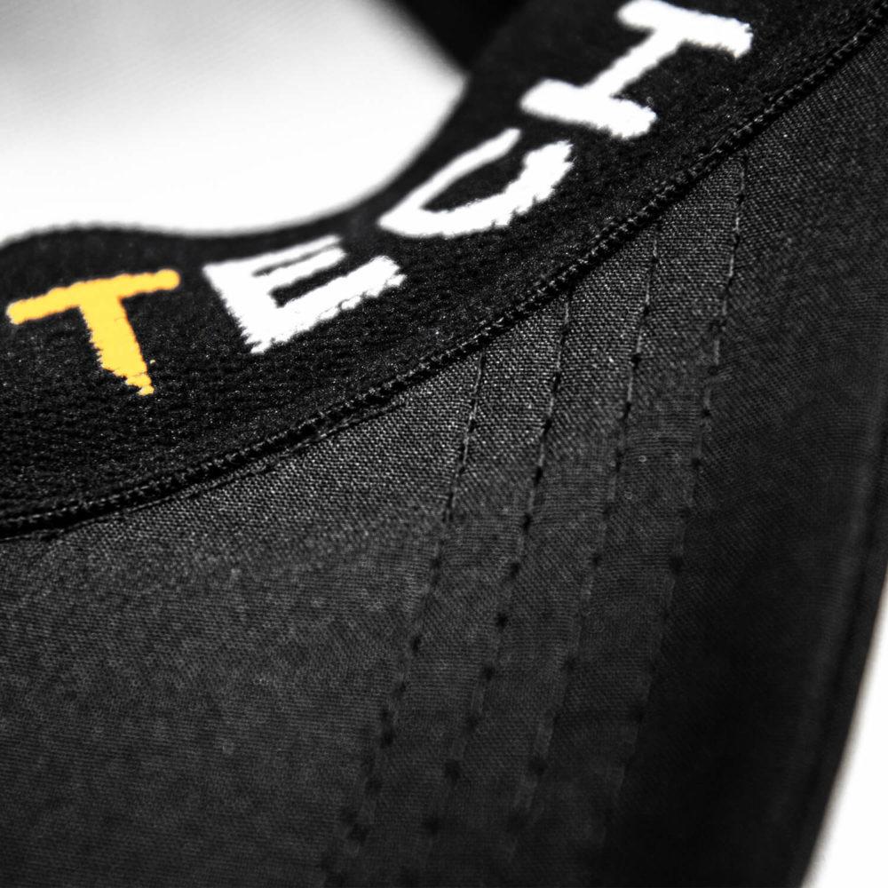 seiteFEFLOGX Sportswear Kappe Pure Sport, Schweißband Innen-Ansicht.