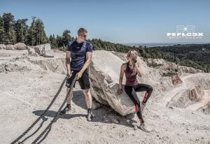 FEFLOGX Sportswear, Shooting mit der neuen Pure-Motion Kollektion, Couple-Workout (1).