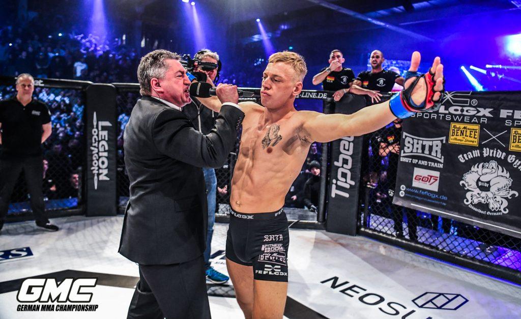 FEFLOGX Sportswear bei GMC 18 in Hamburg, MMA Fighter (36).