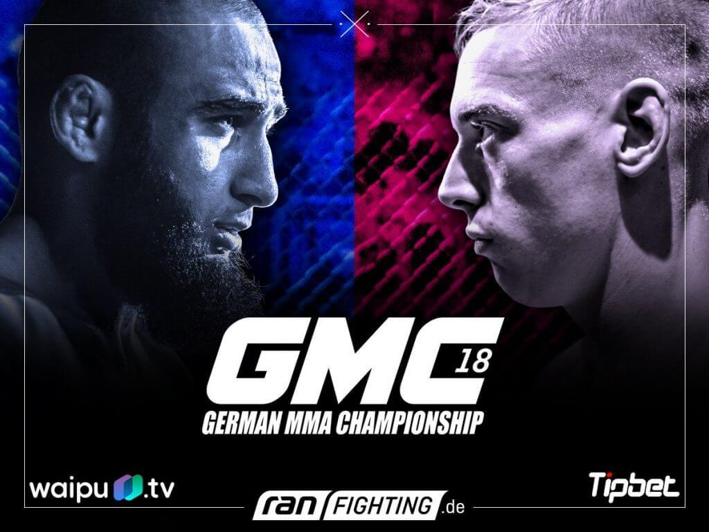 FEFLOGX Fighter Felix Schiffarth gegen Ömer Solmaz bei der GMC 18, MMA-Fight.