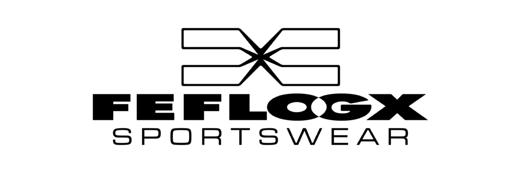 FEFLOGX Sportswear Logo, groß.