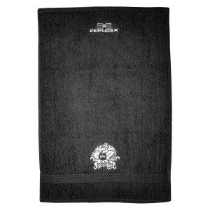 FEFLOGX Sportswear x Pride Gym Handtuch, Fitness Towel, Gesamt-Ansicht.