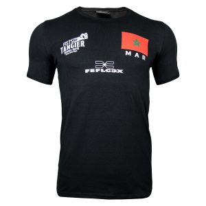 FEFLOGX Sportswear Support-Shirt, Vorne, Nordin Asrih, GMC, MMA-Fighter.