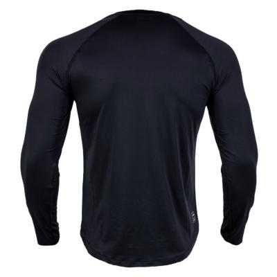 Herren Langes Rashguard EXC Move von FEFLOGX Sportswear, MMA, Grappling, hinten.