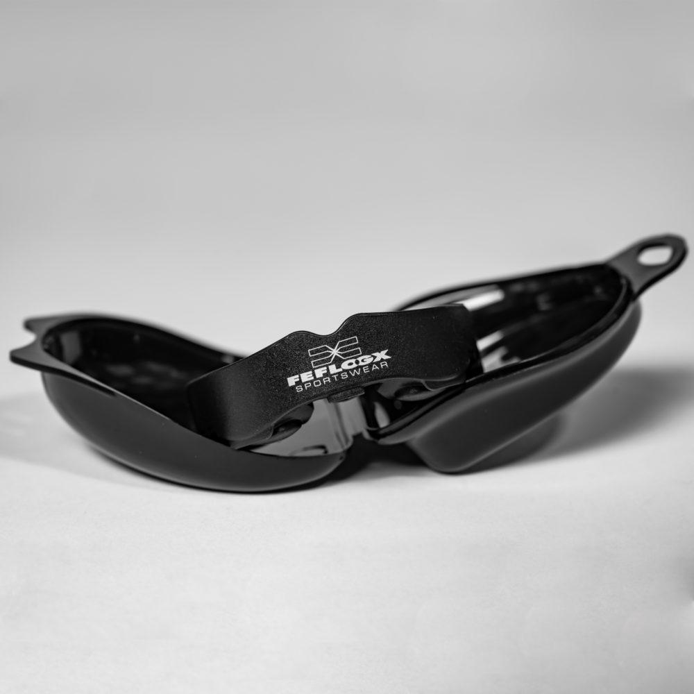 FEFLOGX Sportswear Multi-Mouthguard, Multifunktionaler Mundschutz für alle Kontaktsportarten, vordere Ansicht, mit Aufbewahrungsbox.