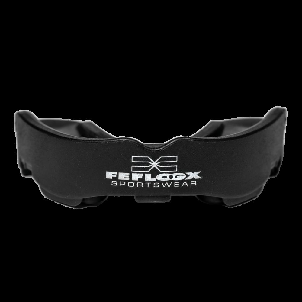 FEFLOGX Sportswear Multi-Mouthguard, Multifunktionaler Mundschutz für alle Kontaktsportarten, vordere Ansicht.