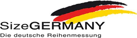 Deutsche Reihenmessung, Maßvorgaben der Size Germany.
