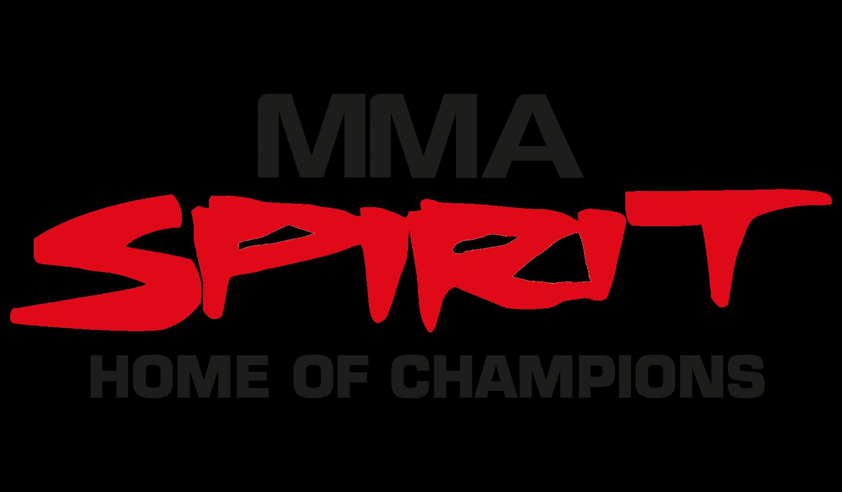 Logo des Kampfsport-Studios/MMA-Studios/Gym, MMA Spirit aus Frankfurt am Main - Home of Champions, Partner von FEFLOGX Sportswear.