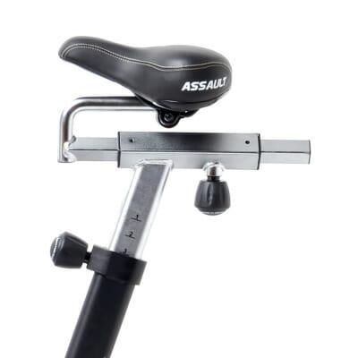 FEFLOGX Sportswear, Assault Fitness Assault Air Bike Classic, Sattel Ansicht.